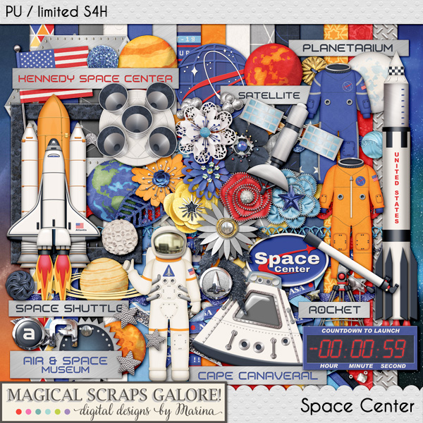 Air and Space Museum Scrapbook Kit